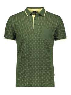 Kultivate Polo PL CROSSING POCKET 2001010404 435 Kombu Green