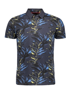 NO-EXCESS Polo POLO MET PRINT 95380308 078 Night