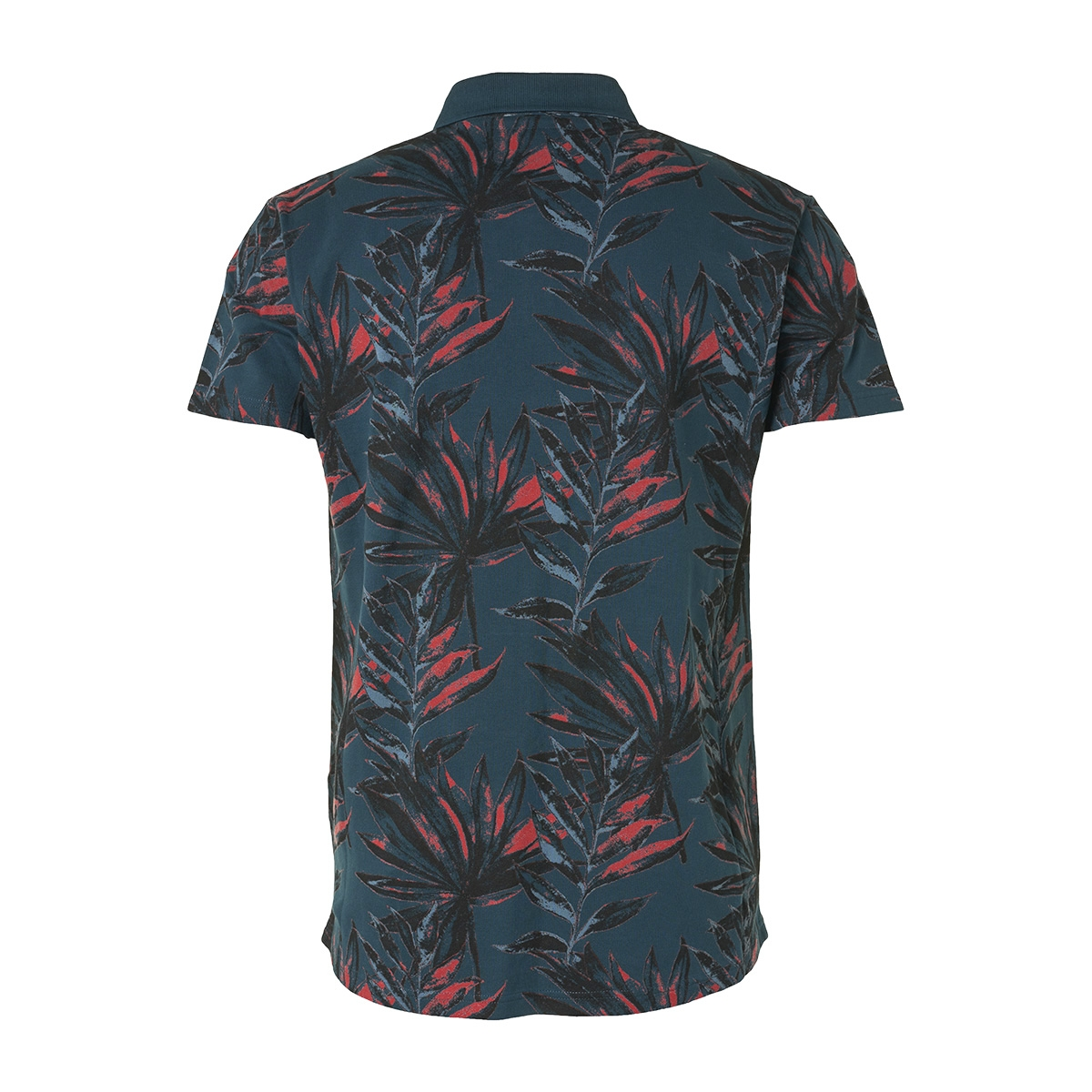 polo met print 95380308 no-excess polo 124 dark steel