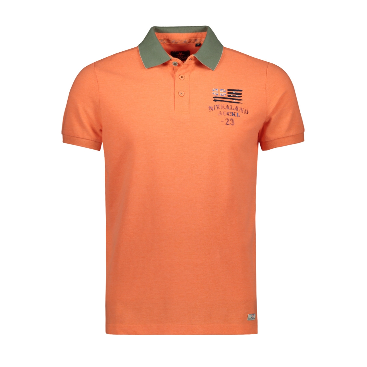 saxton 20cn125 nza polo 641 peach orange