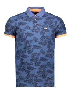 NZA Polo TAUHOA 20CN118 269 Fresh Navy