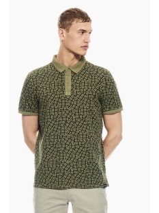 Garcia Polo POLO MET ALL OVER PRINT P01223 1805 Washed Army