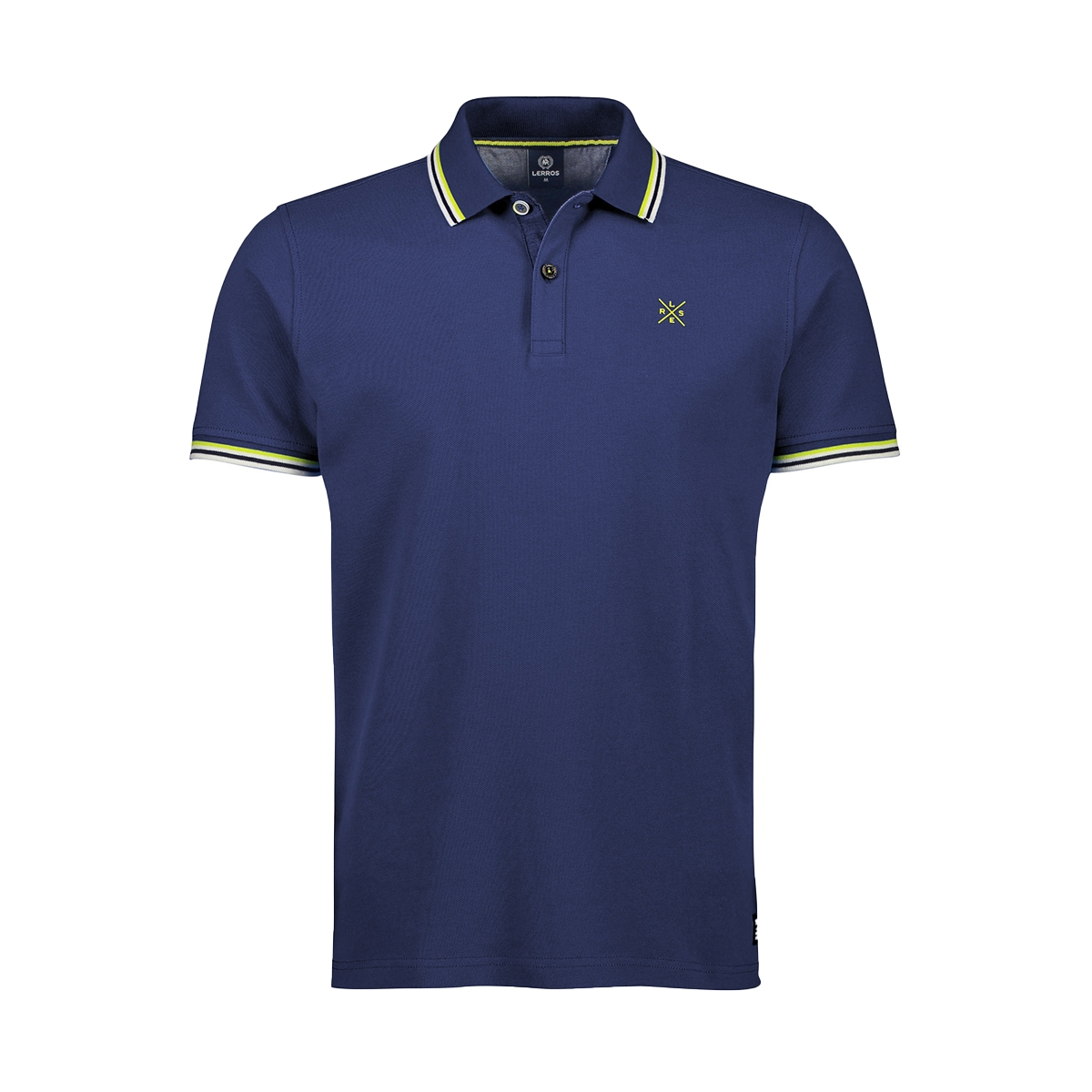 poloshirt met contrast details 2043209 lerros polo 474