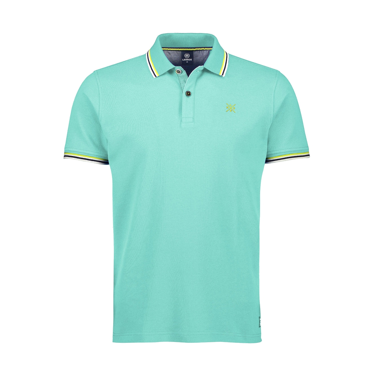 poloshirt met contrast details 2043209 lerros polo 617