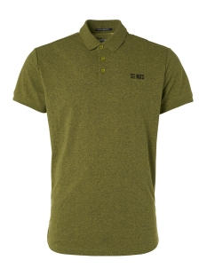 NO-EXCESS Polo MELANGE POLO 95370226 056 Lime