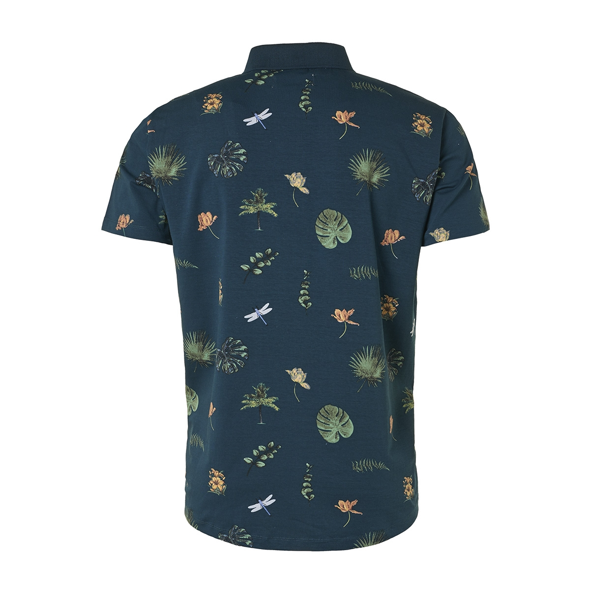 all over printed polo 95370323 no-excess polo 078 night