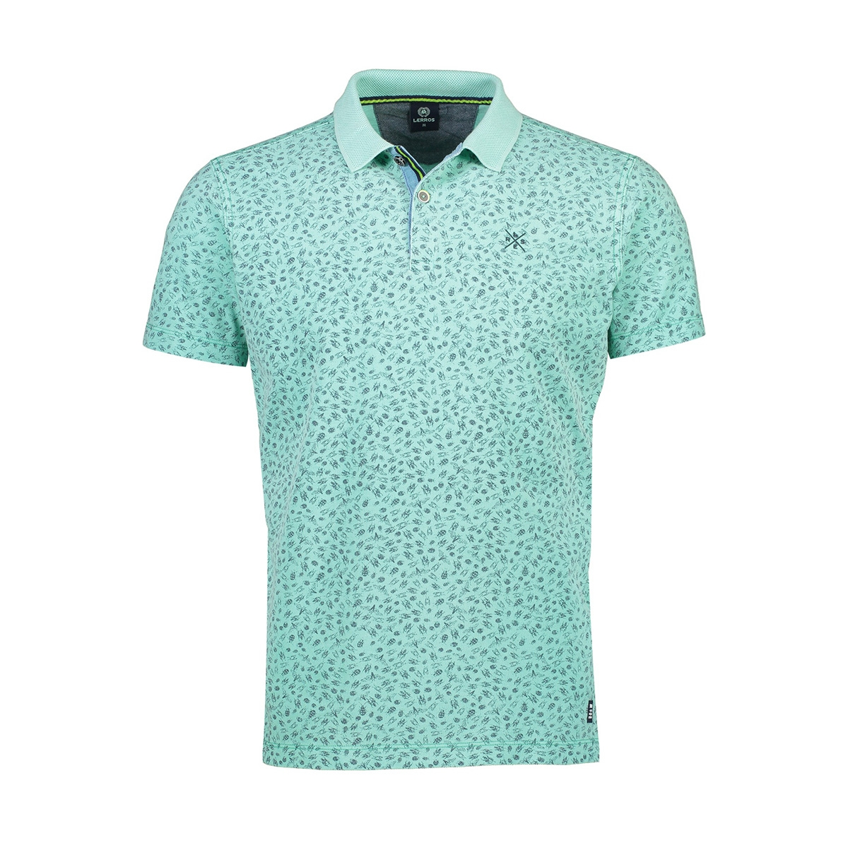polo met insect print 2033261 lerros polo 617