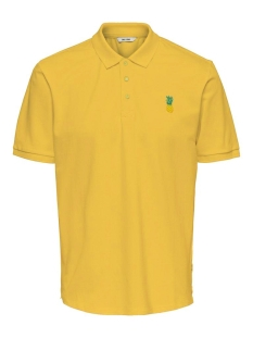 Only & Sons Polo ONSBILLY REG SS POLO 22016504 Misted Yellow