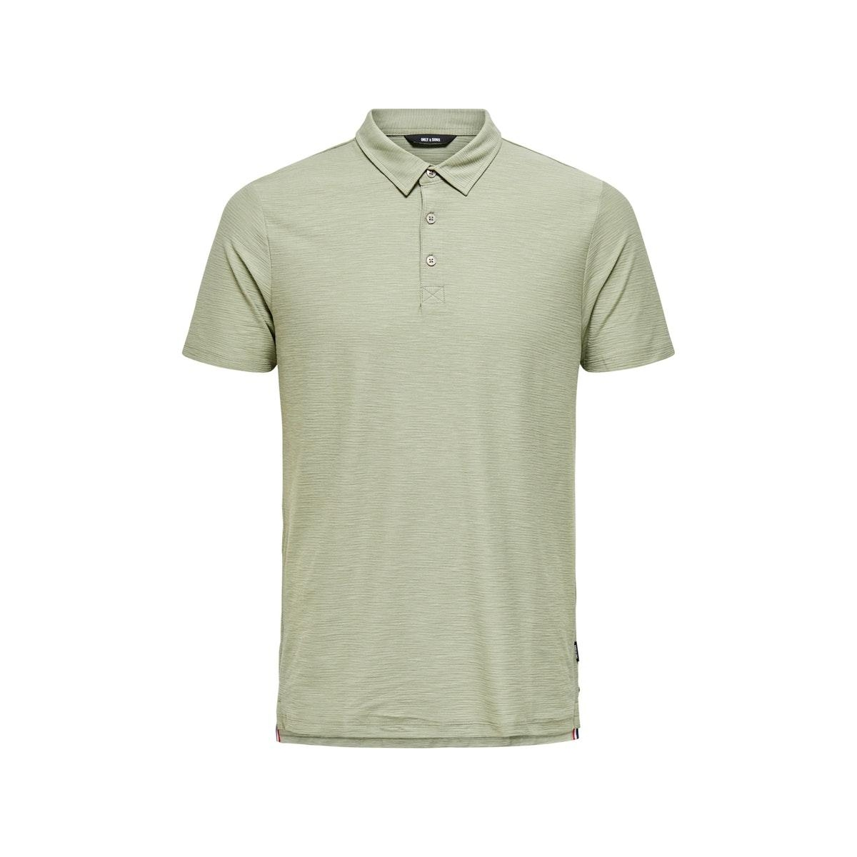 onsilkas slim ss polo noos 22016346 only & sons polo seagrass