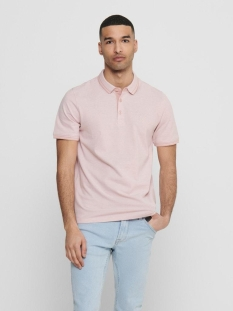 onsstan life ss fitted polotee(6560 22011349 only & sons polo misty rose detail: solid