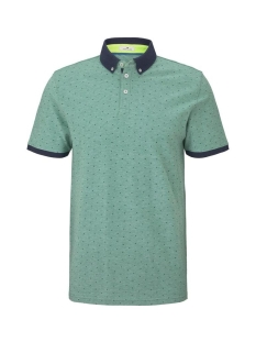 Tom Tailor Polo POLO SHIRT MET ALL OVER PRINT 1018854XX10 23707