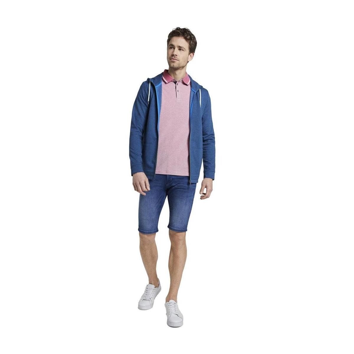 tweekleurige polo 1018864xx10 tom tailor polo 21340
