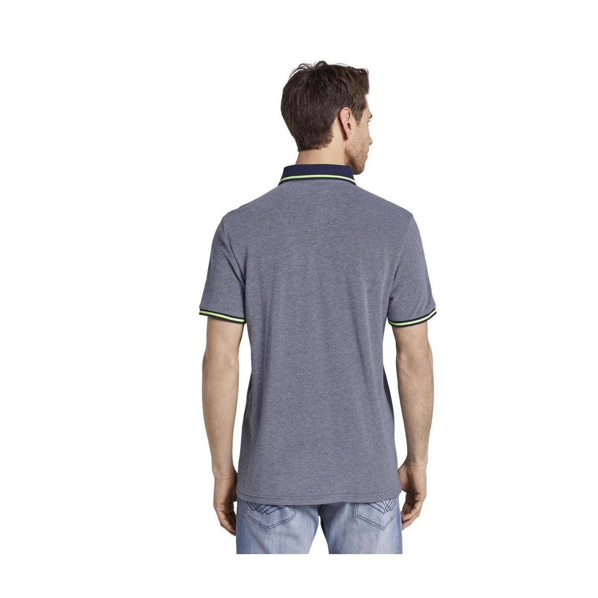 tweekleurige polo 1018864xx10 tom tailor polo 22843