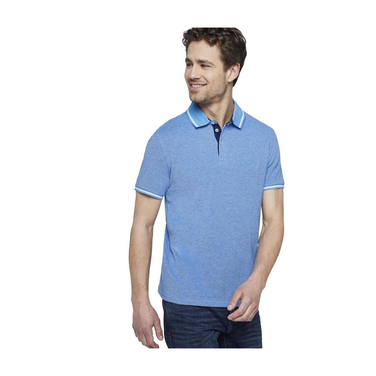 tweekleurige polo 1018864xx10 tom tailor polo 22842