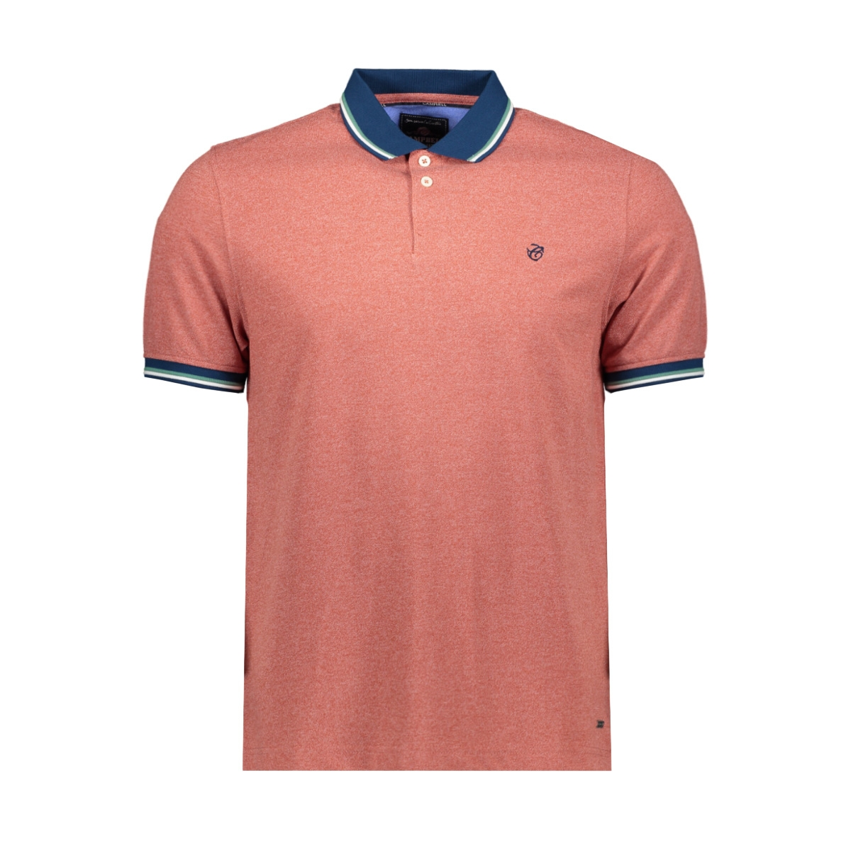 classic polo km 052943 campbell polo 003 donkerrood uni