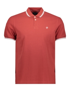 Campbell Polo CLASSIC POLO KM 052936 010 DONKERROOD UNI