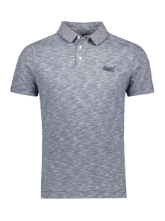 orange label jersey polo m1110021a superdry polo navy feeder