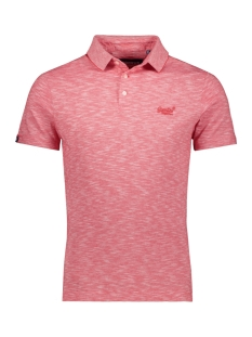 Superdry Polo ORANGE LABEL JERSEY POLO M1110021A GRENADINE FEEDER