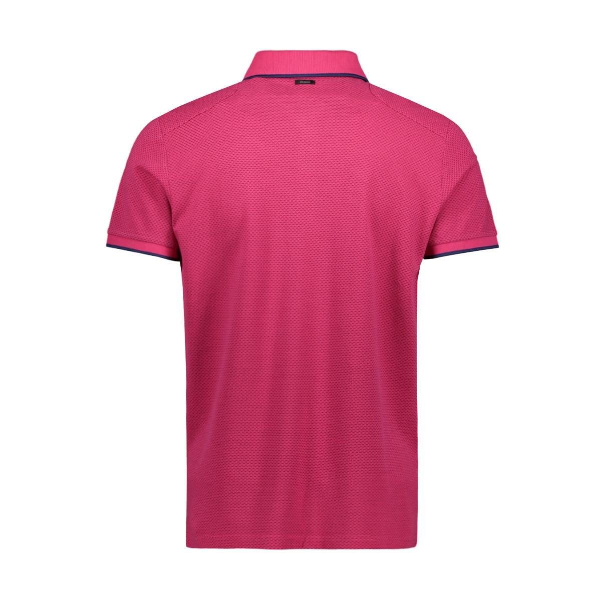 short sleeve pique polo with print vpss203882 vanguard polo 4308