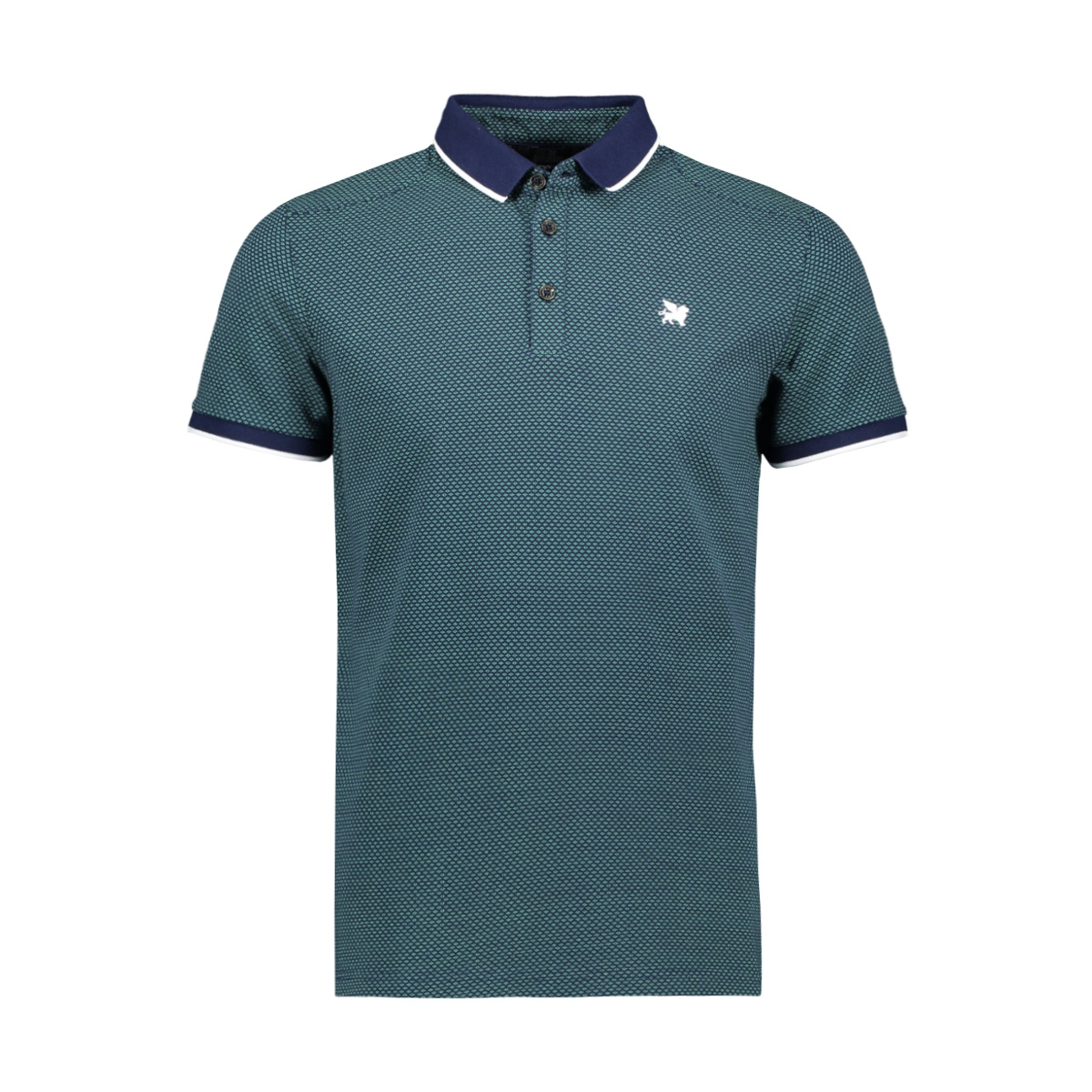 short sleeve pique polo with print vpss203882 vanguard polo 5318