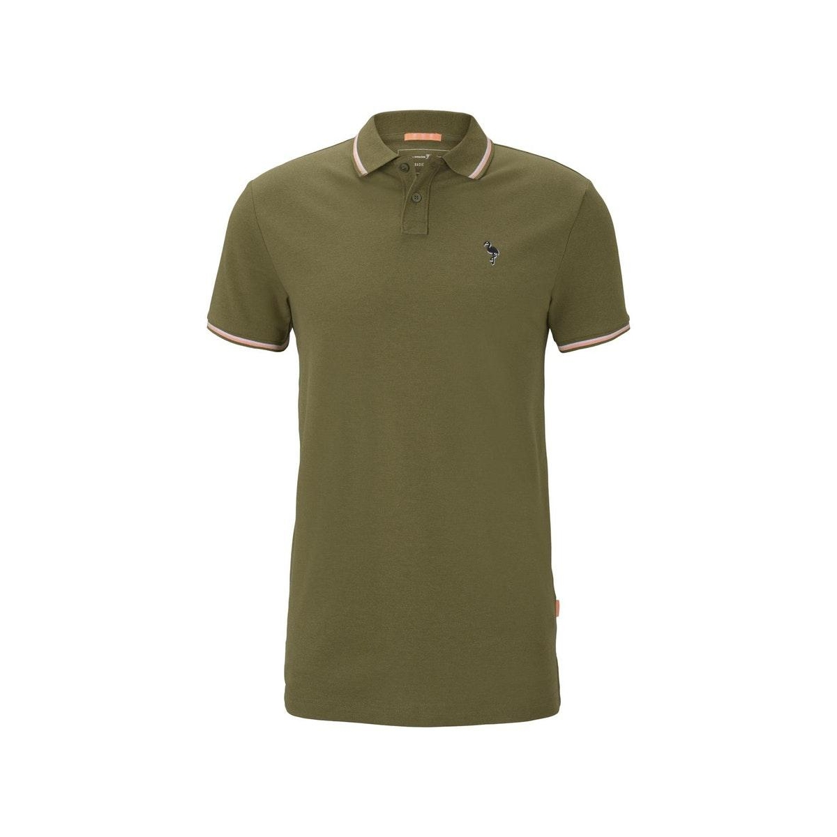 polo shirt met borduurwerk 1019093x12 tom tailor polo 21225
