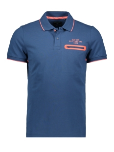 NZA Polo WAIPAOA 20DN111 255 NAVY BLUE