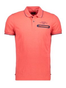 NZA Polo WAIPAOA 20DN111 632 BRIGHT ORANGE