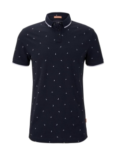Tom Tailor Polo POLO MET ALLOVER PRINT 1019094XX12 23088