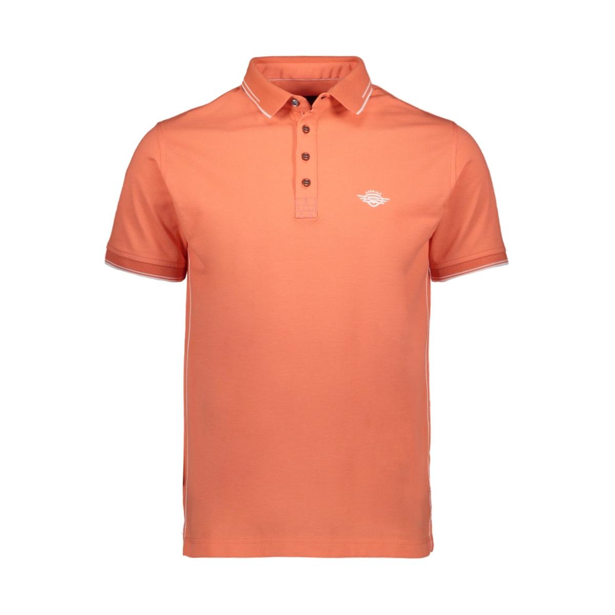 poloshirt 23121 gabbiano polo peach