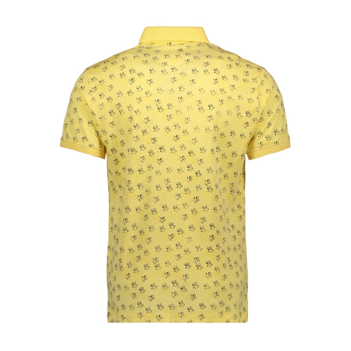 poloshirt 23123 gabbiano polo yellow