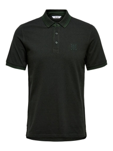 Only & Sons Polo ONSSTAN SS FITTED POLO TEE 6560 NOOS 22011349 Scarab