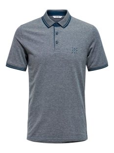 Only & Sons Polo ONSSTAN SS FITTED POLO TEE 6560 NOOS 22011349 Gibraltar Sea
