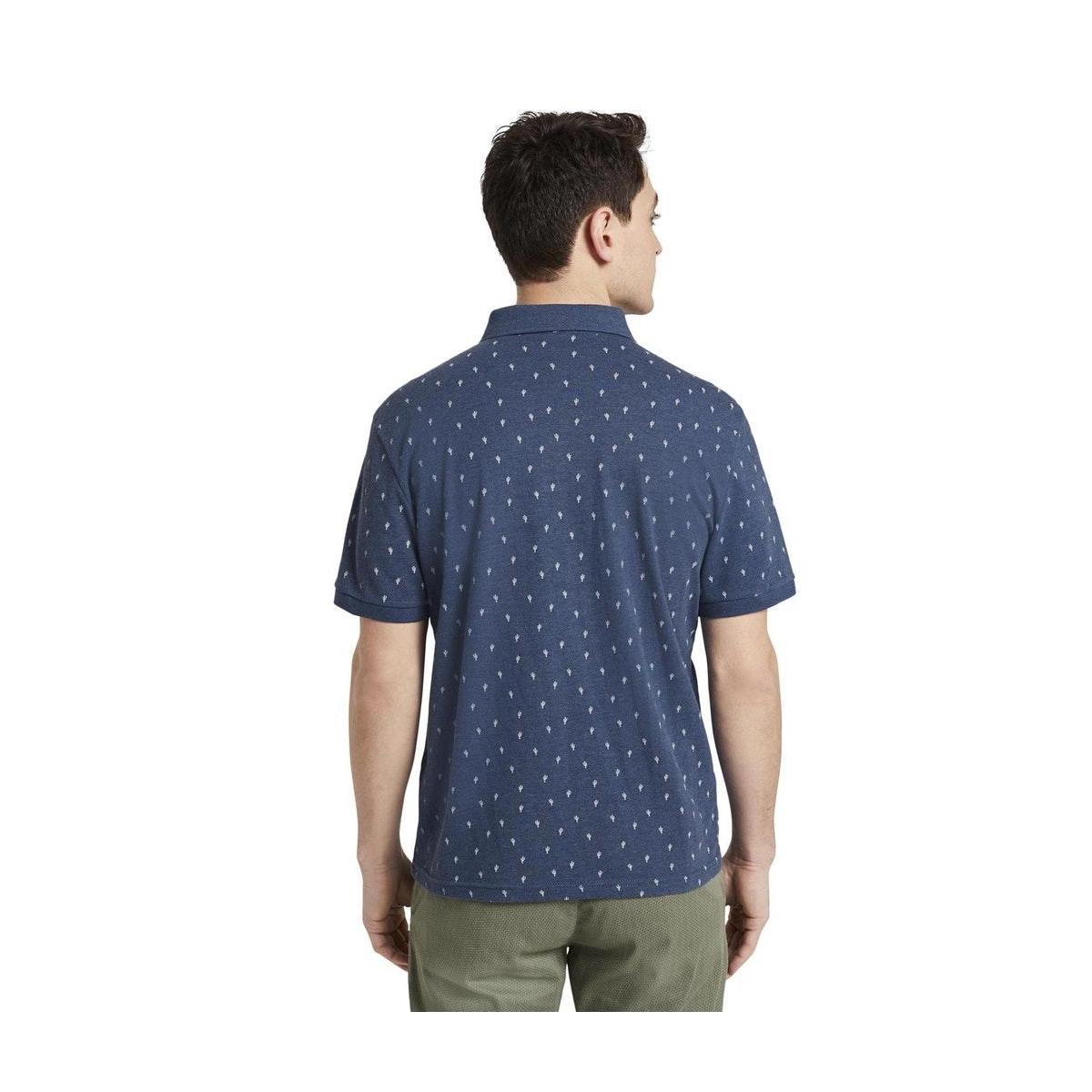 polo met cactus patroon 1019676xx10 tom tailor polo 23405