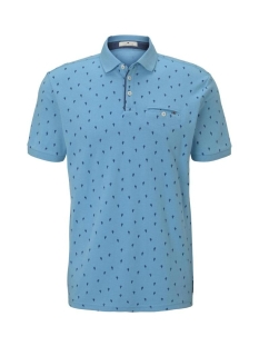 Tom Tailor Polo POLO MET CACTUS PATROON 1019676XX10 23408