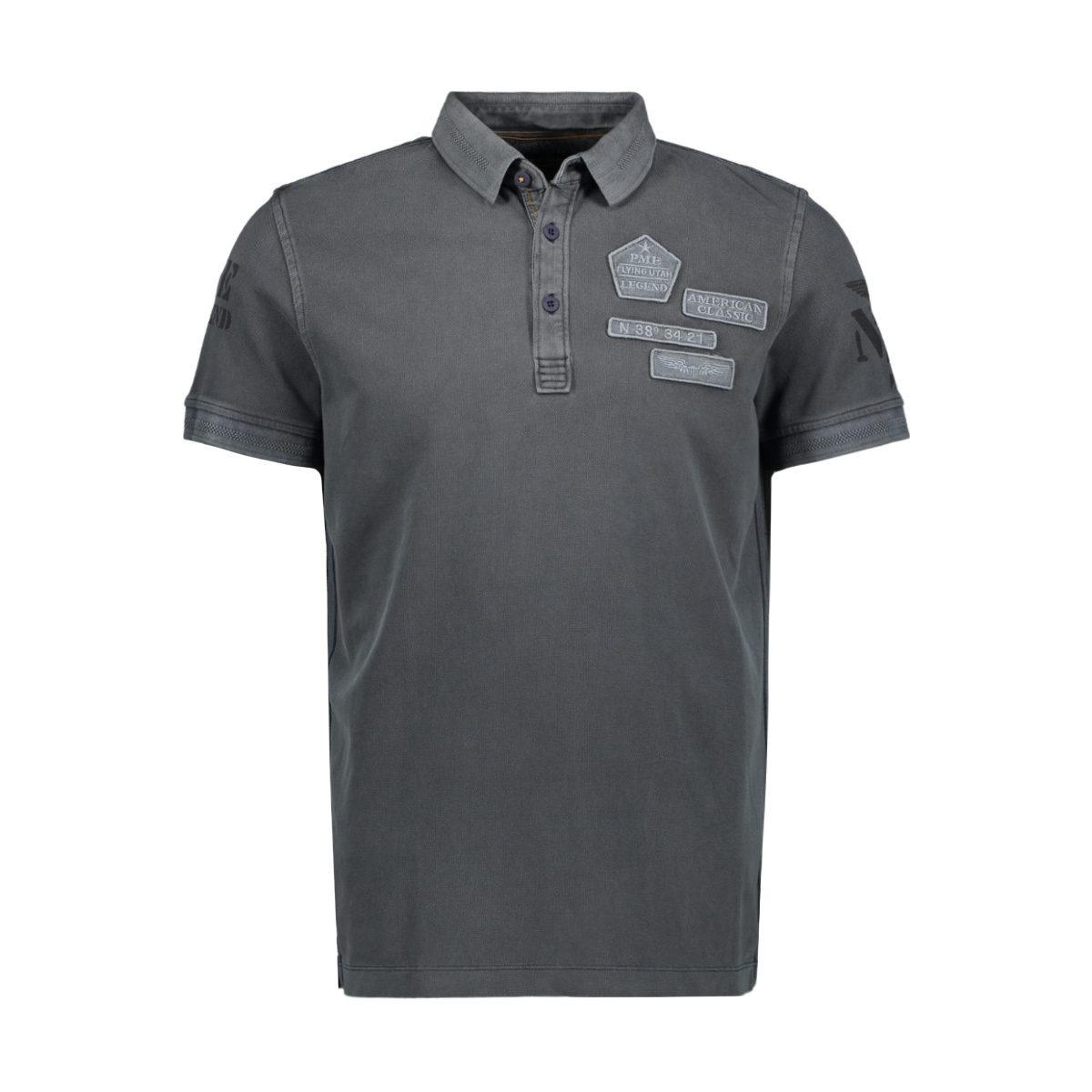rugged pique short sleeve polo ppss204869 pme legend polo 5287