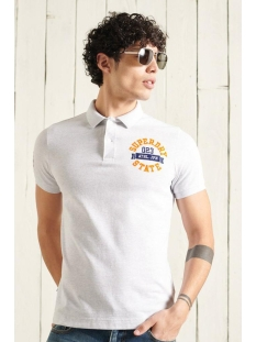 Superdry Polo CLASSIC SUPERSTATE S S POLO M1110008A ICE MARL