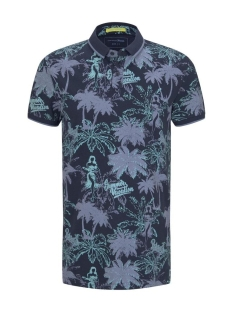 polo met all over print 1018913xx12 tom tailor polo 23812