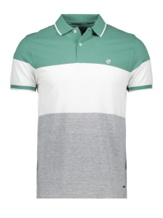 Campbell Polo CLASSIC POLO KM 052940 002 FLESSEN GROEN