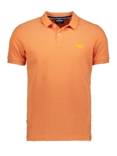 Superdry Polo CLASSIC PIQUE S/S POLO M1110004A DUSKY CORAL TWIST