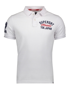 Superdry Polo SUPERSTATE  CLASSIC POLO M1100009A OPTIC