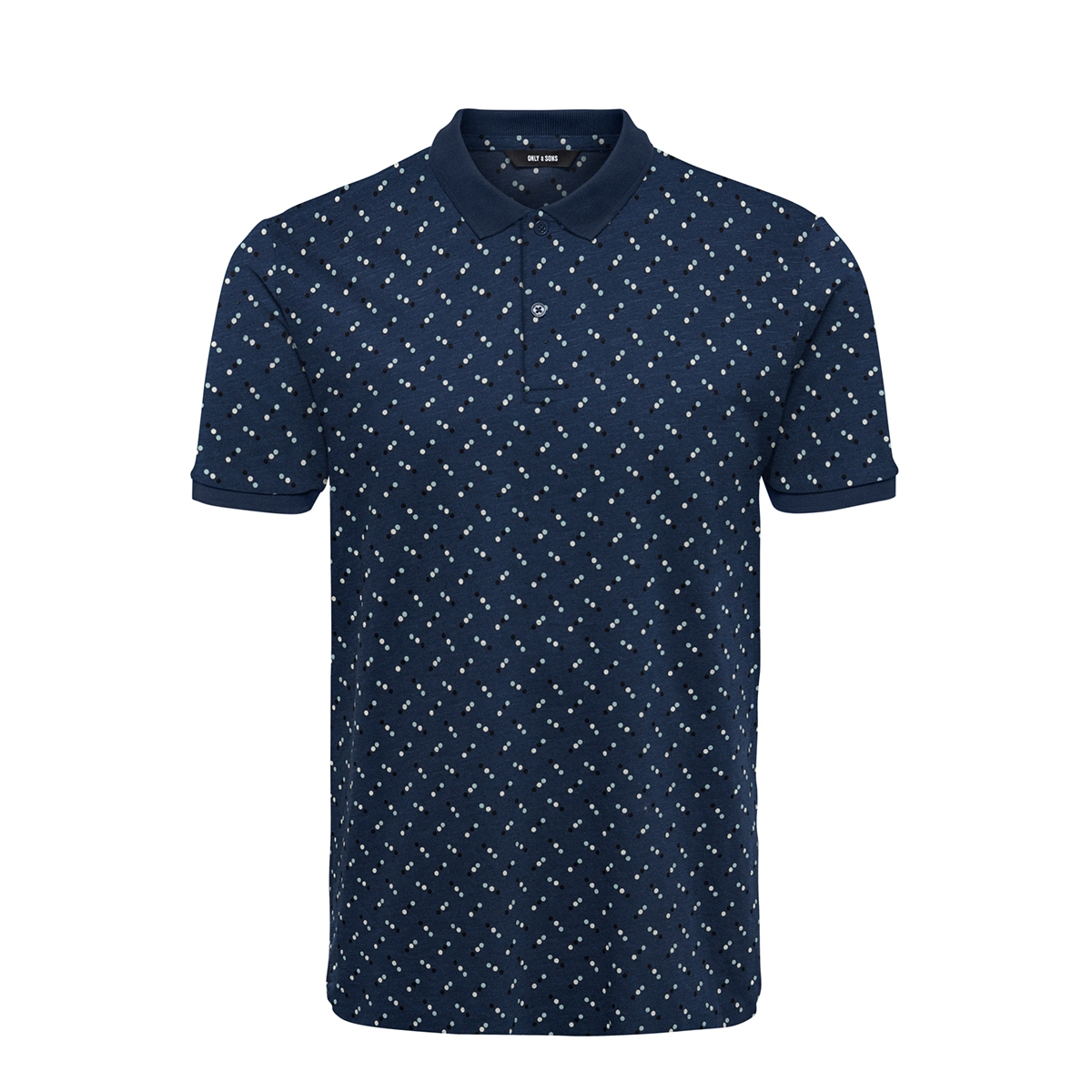 onsmax micas life aop polo 22018193 only & sons polo dress blues