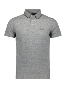 Superdry Polo OL JERSEY POLO M1110052A STONE GREY FEEDER 4DS