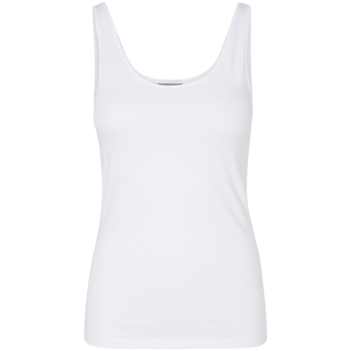 vmmaxi my soft tank top 10148253 vero moda top bright white