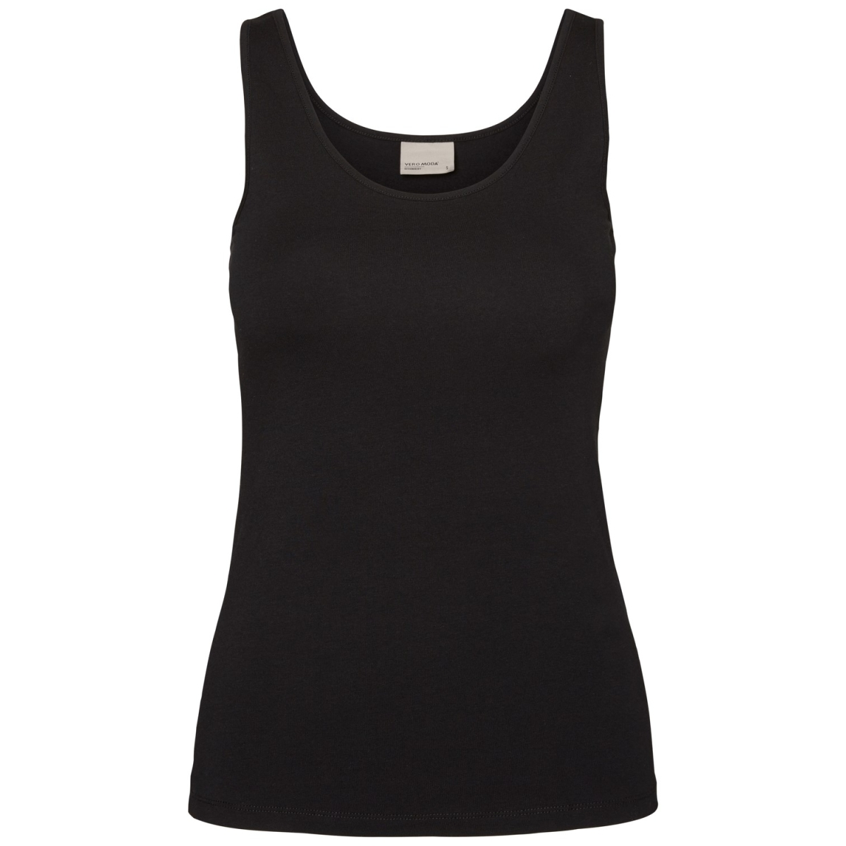 vmmaxi my soft tank top 10148253 vero moda top black