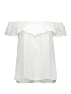 vmina off shoulder t 10156199 vero moda top snow white