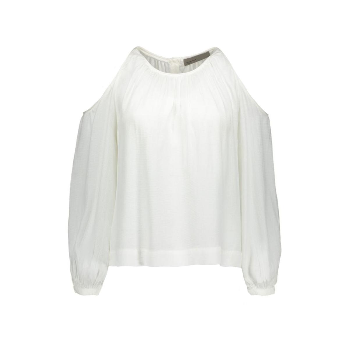 vmfrida w/l top 10156311 vero moda blouse snow white