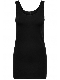 Only Top ONLLIVE LOVE LIFE S/L LONG TANK TOP 15060061 Black
