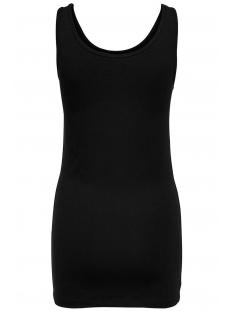 onllive love life s/l long tank top 15060061 only top black