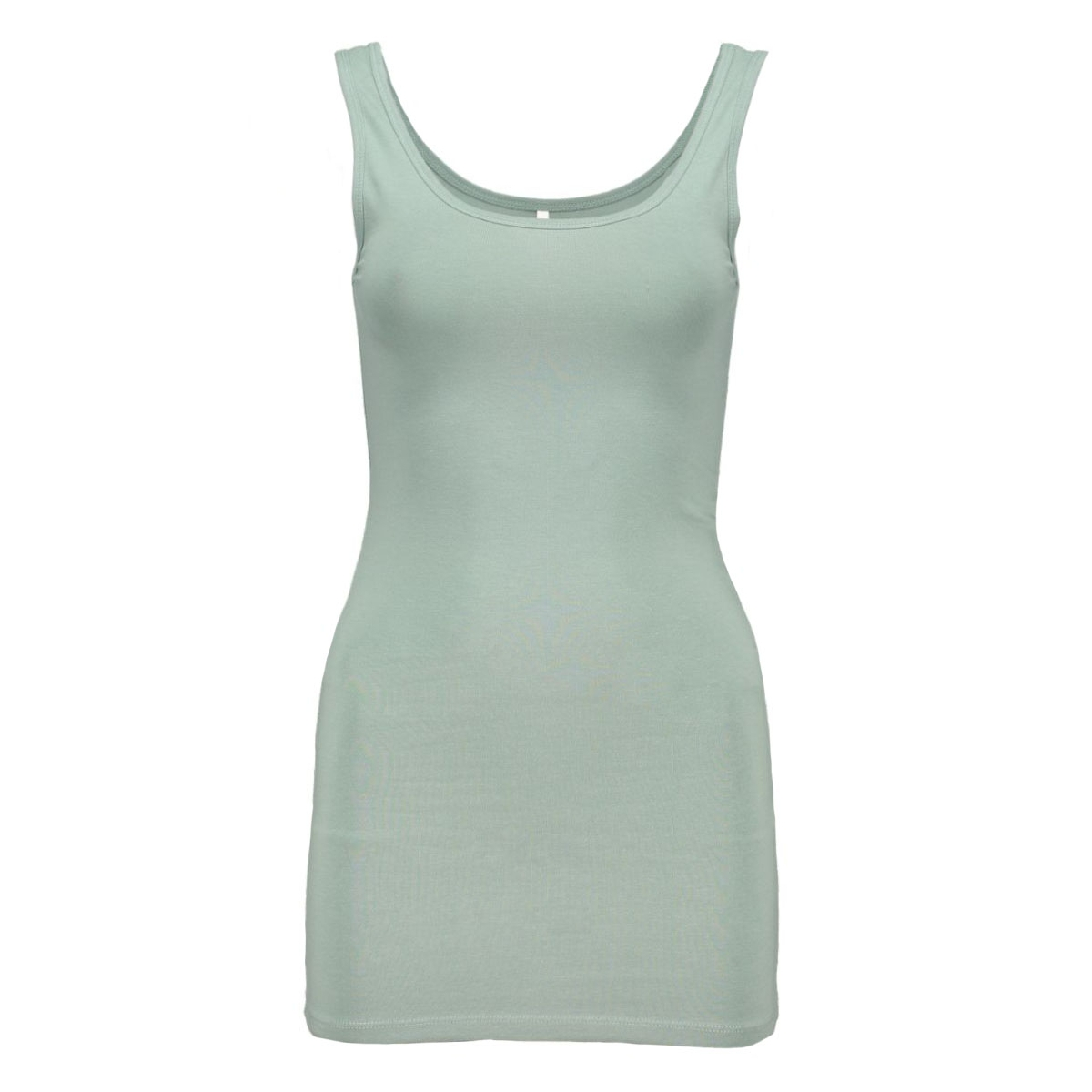 onllive love long tank top 15060061 only top chinois green
