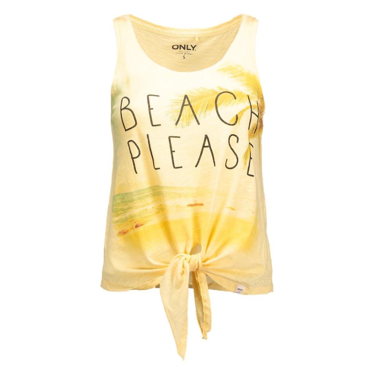 onlbone beach/relax knot top 15117620 only top